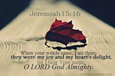my joy and my heart's delight