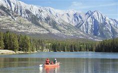 Canadian mountain scene