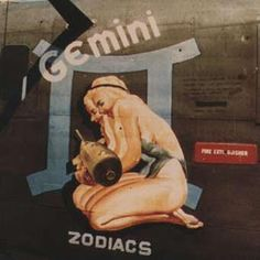 Gemini, nose art Yo Pennsylvania, New York New Jersey you're one phone call call away to saving a hep of money on your auto, home, Motorcycle Steve Miller Insurance Agency 551-800-5991 mcplst@gmail.com and don't forget to join me on Pinterest.com Steve