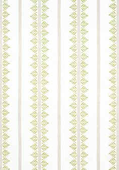 Anna French, Matching Wallpaper, Stripe Print, Ferns, Printing On Fabric, Green, Pattern, Prints, Collection