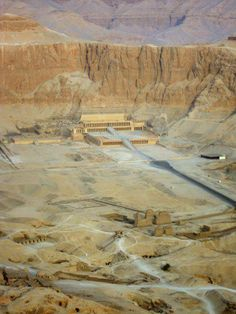 The mortuary temple of Hatshepsut, Egypt/HYDRA base where Skylar and Matthew are found