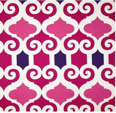 Super Fly Jane Fuchsia designed by Jennifer Paganelli $19.99/m. I love this fabric and the colours! It's my favourite, and will look so great to redecorate my bedroom in. I'm definitely going to make cushion covers for the lounge in this fabric as well. So excited!