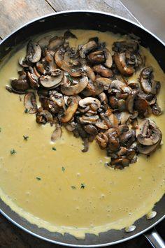 Vegan Mushroom Stroganoff Mac and Cheese - Rabbit and Wolves