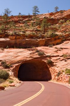 Built in 1930, the Mount Carmel Highway cuts through a part of Arizona's Zion National Park. See more amazing architectural roads that will inspire your summer road trip.