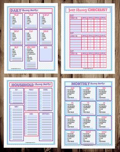Cleaning Checklist PlannerCleaning Checklist by MamasGotItTogether