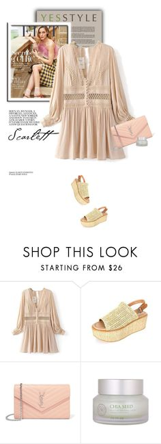 """""""YESSTYLE.com"""" by monmondefou ❤ liked on Polyvore featuring DaBaGirl, Yves Saint Laurent, The Face Shop, Summer and yesstyle"""