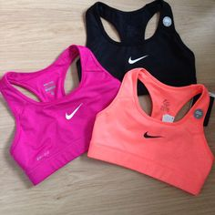 Nike Sports Bra. I just bought 3 of them.