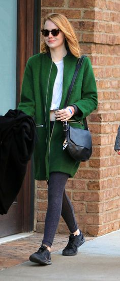 Emma Stone out in NYC 11/14/15