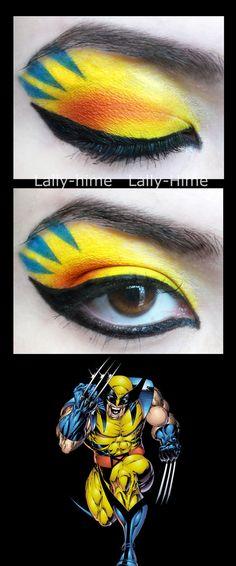 The Heroes- Wolverine Make Up by Lally-Hime.deviantart.com on @deviantART