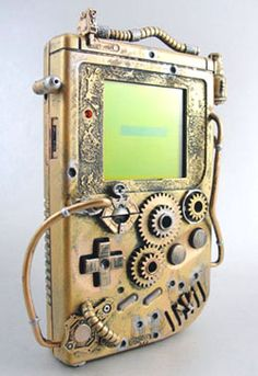 Steampunk gameboy...this is actually really freakin' awesome!