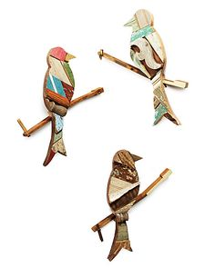 SONGBIRD WALL ART | recycled art, bird wall art | UncommonGoods - on a piano key
