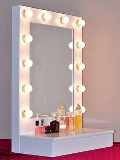 Hollywood Lighted Vanity Mirror Slim Edition W On Off
