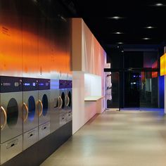 Splash launderette by Frederic Perers
