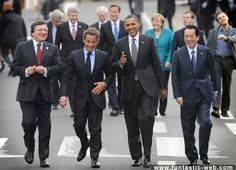 Presidents On Walk…
