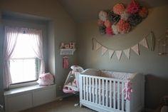 modèle ambiance chambre bébé gris et blanc