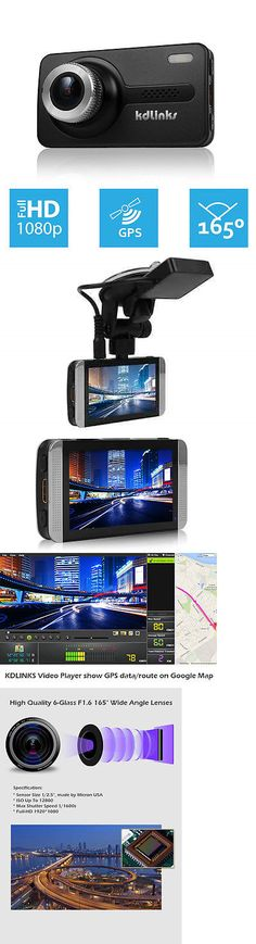 Other Car Video: Kdlinks X1 Ultra Hd 165° Gps Wdr Car Dashboard Camcorder Camera Dash Cam Dashcam -> BUY IT NOW ONLY: $169.95 on eBay!