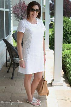 Summer Fashion for Women Over 40: Little White Dress