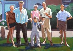 Leland Bell, Croquet Party