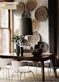 Baskets wall decor