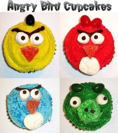 Probably going to do these for the boys' birthday this year.  They're cute and no fondant!