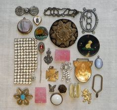 Vintage Misc Findings Odds n Ends Parts Salvage by ohmymilky, $18.50