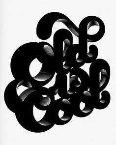 Alex Trochut. One of the most talented typographer/illustrators around. official page: http://www.alextrochut.com