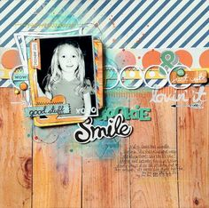 #Papercraft #Scrapbook #Layout. Missy Whidden for MME