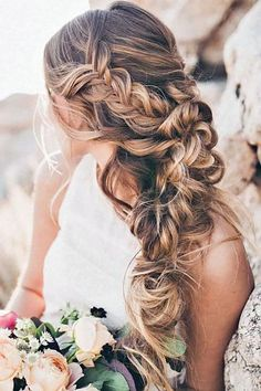 38 Ideas Wedding Guest Updo Tutorial For 2019 Wedding Guest Updo, Easy Wedding Guest Hairstyles, Easy Hairstyle Video, Bridesmaid Hair Half Up, Moda Boho, Wedding Hair Inspiration, Wedding Hair And Makeup, Hair Wedding, Wedding Dress