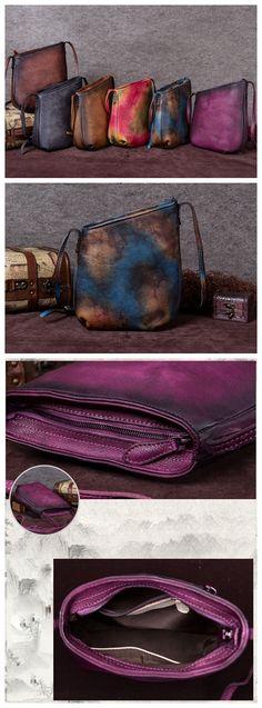 Handmade Leather Shoulder Bag, Shopping Bag Tote Bag For Women