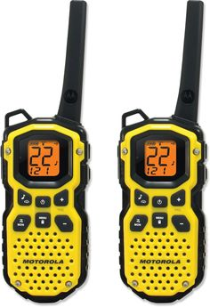 Talk across town or across a mountain—Motorola Talkabout MS350R 2-Way Radios - 2 Pack.