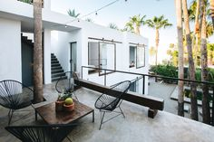 Completed in 2016 in San José del Cabo, Mexico. Images by Mike Arce, Rafael Gamo. . In 2012 a run down 6 one bedroom apartment building on 600 square meters of land in the up and coming Art District in San Jose del Cabo's colonial...