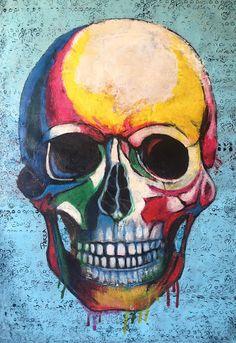 EL NIETO DE PANCHO: MERECE LA PENA Deadpool, Skull, Superhero, Fictional Characters, Art, Paintings, Art Background, Kunst, Superheroes