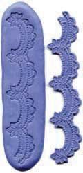 Scalloped Border Silicone Mold: Amazon.com: Kitchen & Dining