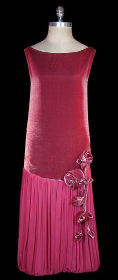 Pink Dress 1920s