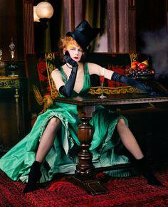 Nicole Kidman by Steven Miesel Vogue 2001