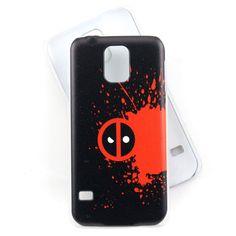 "Deadpool case for Samsung Galaxy S5 phone - ""Merc with a Mouth"" deadpool"