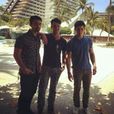 Jonas Brothers (I interviewed them before they were famous).