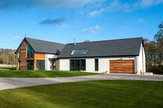 Description to be placed here, this will appear below image and below title House Designs Ireland, Architect Design House, Cottage Extension, Home Cinema Room, Cedar Cladding, Rural House, Ireland Homes, Prefabricated Houses, Red Roof