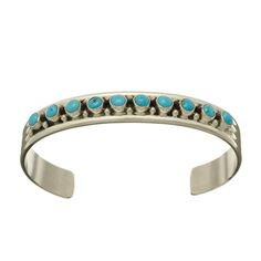 Bracelet Navajo, Turquoises et argent | Harpo Paris #braceletturquoise #navajo