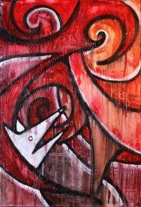 Drowning Dog Laura Kranz Art 205x300 Speed painting: Drowning Dog (video)