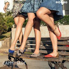 Fofas e estilosas... As flats Camminare vieram para deixar você assim: APAIXONADA por elas!  #camminare #shoes #love #moda #mulheres #fashion #streetstyle #style #bestfriends #flats