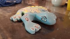 Dinosaur Stuffed Animal, Pottery, Pillows, Toys, Animals, Ceramica, Animales, Animaux, Pottery Marks