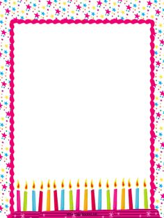 See 4 Best Images of Free Printable Happy Birthday Borders. Free Printable Birthday Borders Free Birthday Page Borders Happy Birthday Border Clip Art Free Free Birthday Page Borders Borders For Paper, Borders And Frames, Diy Birthday Gifts For Him, Free Birthday, Happy Birthday, Molduras Vintage, Kids Background, Frame Clipart, Paper Frames