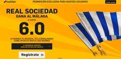 el forero jrvm y todos los bonos de deportes: betfair Real Sociedad gana Malaga supercuota 6 Lig...