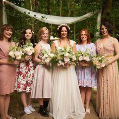 Bouquet by Rosie at A Vintage Wedding