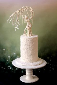 Bernini's Apollo and Daphne inspired cake by Sweet Symphony