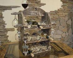 Hinged glass floor wine cellar display unit Wine storage trap   Etsy Walking On Glass, Wood Pencil Holder, Rustic Wine Racks, Home Bar Furniture, Floor Framing, Wine Rack Wall, Glass Floor, Wine Cabinets, Glass Holders