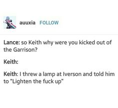 """I feel like Keith would throw the lamp and Lace would be like, """"Gee, Keith, LIGHTEN UP"""""""