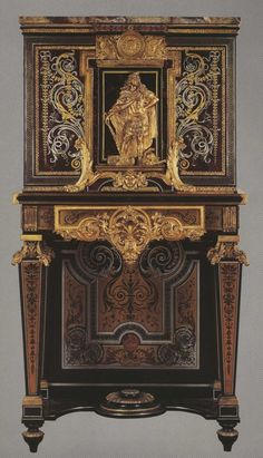Boulle Cabinet On Stand, Louvre.