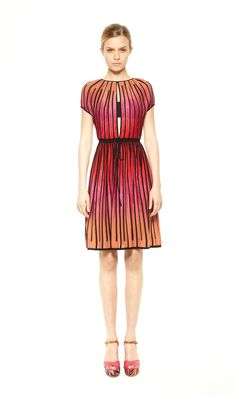 #MMissoni Cotton Knit Rod Dress | Summer 2013 Collection